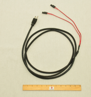 PLUG FOR HARNESS, INFANTRY/PAIR, 6FT Entire cord aspect view