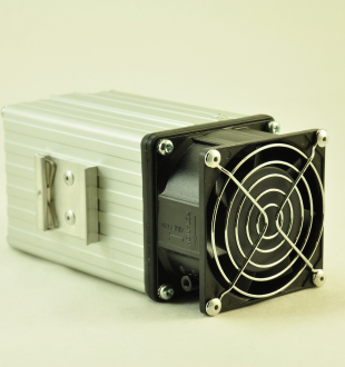 240V, 100W FAN FORCED PTC CONVECTION HEATER Front Facing View