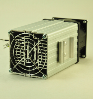 120V, 200W FAN FORCED PTC CONVECTION HEATER DIN Mounting Clip