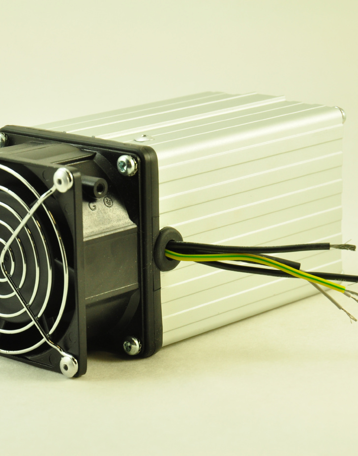 240V, 100W FAN FORCED PTC CONVECTION HEATER Wire Connectors
