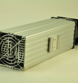 120V, 500W FAN FORCED PTC CONVECTION HEATER DIN Mounting Clip