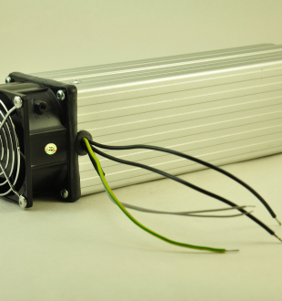 240V, 600W FAN FORCED PTC CONVECTION HEATER Wire Connectors
