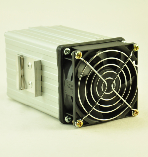 48V, 100W FAN FORCED PTC CONVECTION HEATER Front Facing View