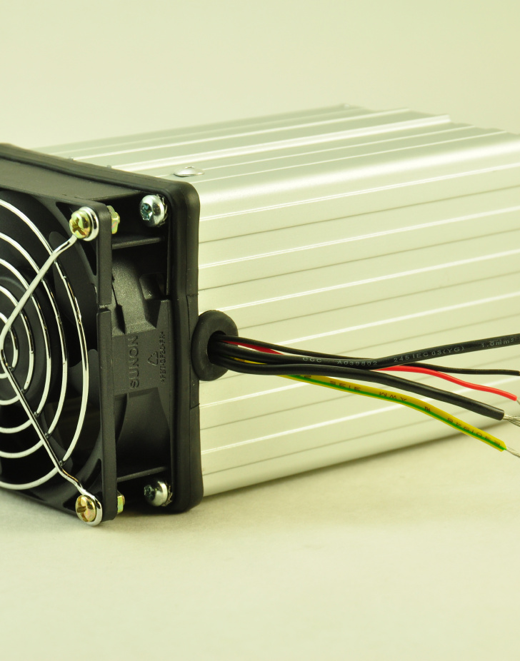 48V, 150W FAN FORCED PTC CONVECTION HEATER Wire Connectors