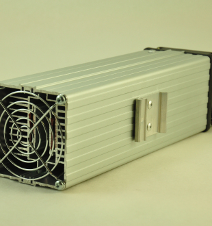 48V, 600W FAN FORCED PTC CONVECTION HEATER Din Mounting Clip