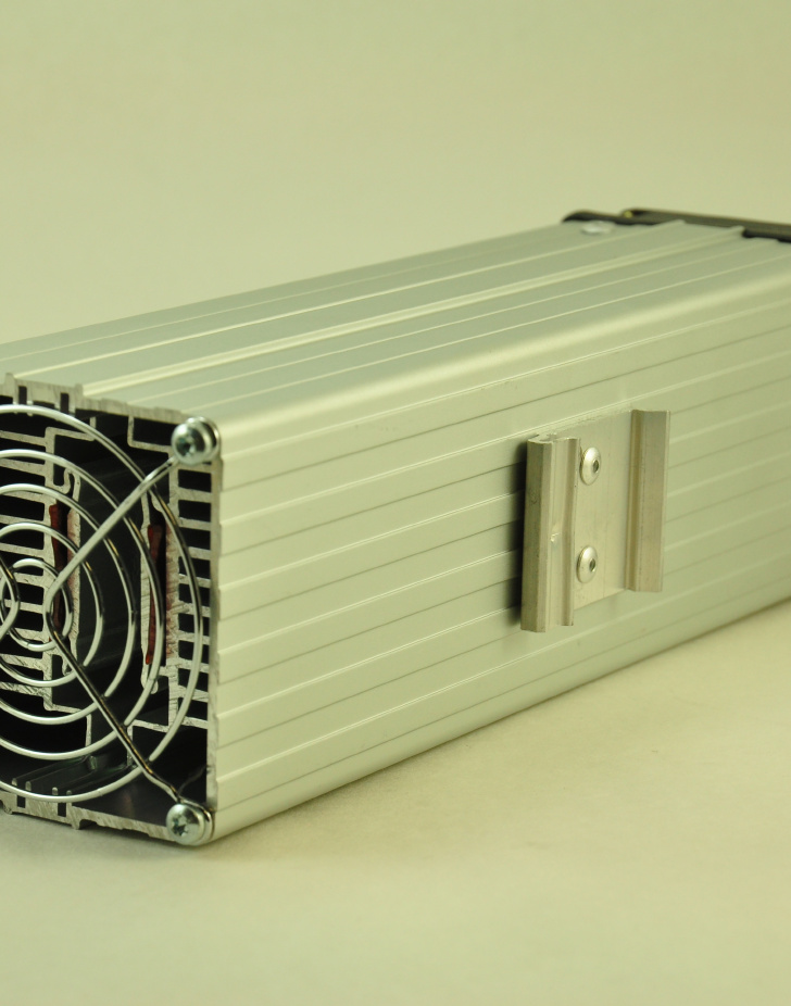 24V, 450W FAN FORCED PTC CONVECTION HEATER DIN Mounting Clip