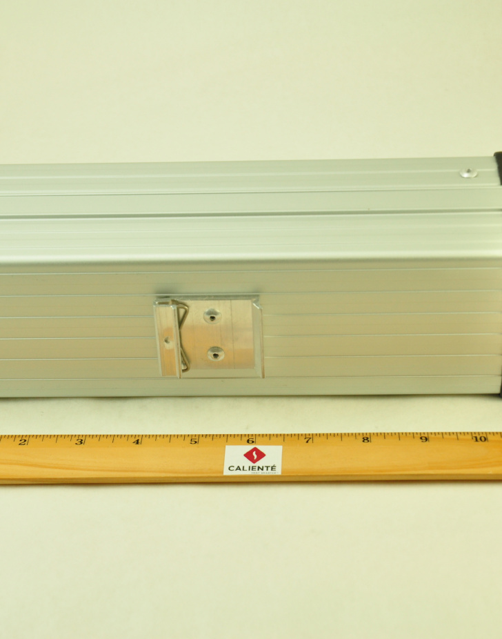 24V, 450W FAN FORCED PTC CONVECTION HEATER Aspect View