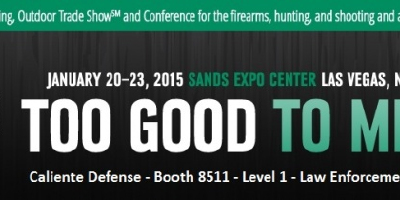 Caliente Defense Exhibits at SHOT Show January 20th-23rd in Las Vegas
