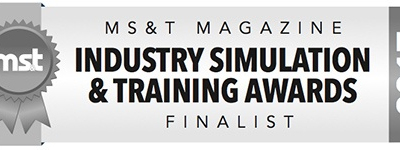 MS&T Awards Caliente as a Finalist in the Global Defense Training and Simulation Community